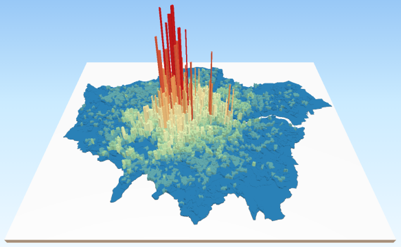concentration of housing wealth in London