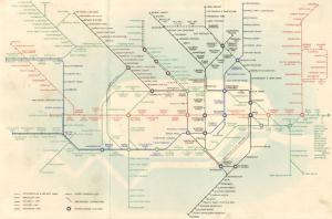 Tube Map 1939