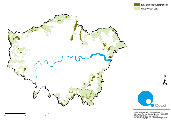 Environmentally Protected Land in London Green Belt